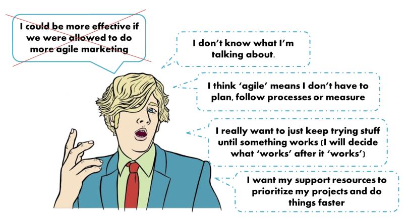Be more agile