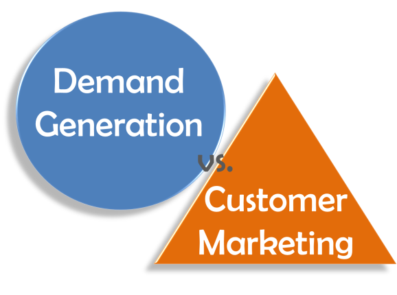 Demand Gen vs Customer Marketing
